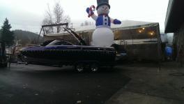 Snowman Float